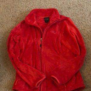 North Face Osito 2 fleece jacket in Rambutan Pink